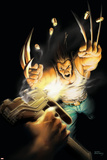 Wolverine No.10 Cover: Wolverine Prints by Leandro Fernandez