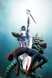 Dark Reign: Mister Negative No.1 Cover: Mr. Negative and Spider-Man Photo by Jae Lee
