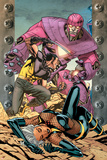 Ultimate X-Men No.85 Cover: Storm, Wolverine and Sentinel Prints by Yanick Paquette
