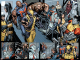Uncanny X-Men No.494 Group: Wolverine, Bishop, Colossus, X-23 and Hepzibah Prints by Billy Tan