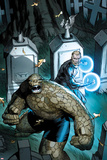 Fantastic Four No.605 Cover: Thing and Nathaniel Richards Posters by Ron Garney