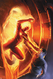 Marvel Comics No.1 70th Anniversary Edition Cover: Human Torch Póster