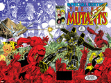 New Mutants Special Edition No.1 Cover: Warlock, Wolfsbane, Magik and New Mutants Posters por Arthur Adams