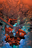 New Thunderbolts No.3 Cover: Atlas Prints by Tom Grummett