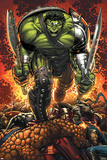 World War Hulk Prologue: World Breaker Cover: Hulk Prints by John Romita Jr.