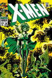 X-Men No.51 Cover: Dane, Lorna and X-Men Poster autor Jim Steranko