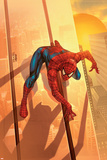 Spider-Man Unlimited No.12 Cover: Spider-Man Planscher av Salvador Larroca
