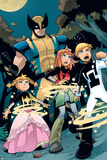 X-Men & Power Pack No.1 Group: Wolverine, Energizer, Mass Master, Lightspeed, Zero-G and Power Pack Posters by  Gurihiru