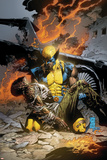 X-Men Deadly Genesis No.3 Cover: Wolverine Fighting Posters by Trevor Hairsine