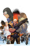 Cable No.10 Cover: Cable and Cyclops Posters by Ariel Olivetti