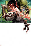 Secret Warriors No.11 Cover: Nick Fury, Dugan and Dum Dum Prints by Jim Cheung