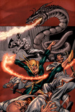 The Immortal Iron Fist: The Origin Of Danny Rand Cover: Iron Fist Posters by Gil Kane