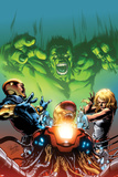 Incredible Hulks: Enigma Force No.2 Cover: Hulk Screaming Prints by Carlo Pagulayan