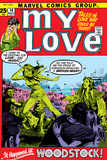 Marvel Comics Retro: My Love Comic Book Cover No.14, Woodstock Posters