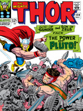 Marvel Comics Retro: The Mighty Thor Comic Book Cover No.128, Hercules Prints