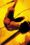 Daredevil: Reborn No.2 Cover: Daredevil Jumping Plakaty autor Jock