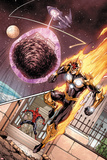 I Am an Avenger No.3: Nova Flying Prints by Andy Lanning