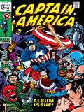 Marvel Comics Retro: Captain America Comic Book Cover No.112, Album Issue! Plakater