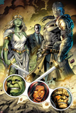 Incredible Hulks No.619: Jarella, Glenn Talbot, and Hiroim Standing Print by Paul Pelletier