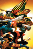 Uncanny X-Men: First Class No.5 Cover: Wolverine Posters af Roger Cruz