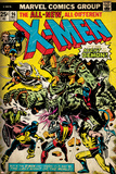 Marvel Comics Retro: The X-Men Comic Book Cover No.96, Fighting the Night Demon (aged) Prints