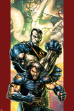 Ultimate X-Men No.47 Cover: Wolverine and Colossus Prints by Brandon Peterson