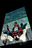 Amazing Spider-Man No.514 Cover: Spider-Man Plakater af Mike Deodato