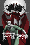 Avengers Origins: The Scarlet Witch & Quicksilver No.1 Cover Posters par Marko Djurdjevic