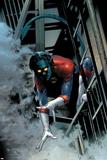 Nightcrawler No.1 Cover: Nightcrawler Swinging Poster af Greg Land
