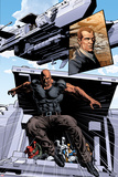 New Avengers No.20: Luke Cage Jumping Posters by Mike Deodato