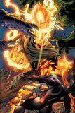 Incredible Hulks No.618: Dr. Strange Fighting Posters by Paul Pelletier