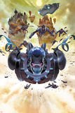 Ultimate Comics Ultimates No.8: Zorn Flying Print by Esad Ribic