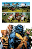Astonishing X-Men No.32 Group: Beast, Brand, Abigail, Armor and Storm Posters by Phil Jimenez