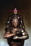 Adi Granov - Cable No.6 Cover: Cyclops and Cable Obrazy