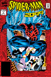 Spider-Man 2099 No.1 Cover: Spider-Man 2099 Posters by Rick Leonardi