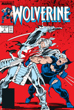 Wolverine No.2 Cover: Wolverine and Silver Samurai Posters by John Buscema