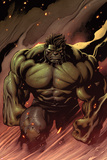 Hulk No.24: Hulk Walking Lámina por Ed McGuinness