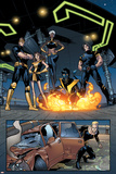 Ultimate X-Men No.63 Group: Nightcrawler, Wolverine, Cyclops, Storm, Grey, Jean and X-Men Photo by Stuart Immonen