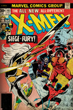Marvel Comics Retro: The X-Men Comic Book Cover No.103 with Storm, Nightcrawler, Banshee(aged) Photo