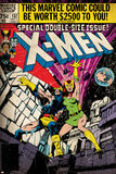 Marvel Comics Retro: The X-Men Comic Book Cover No.137, Phoenix, Colossus (aged) Prints