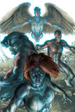 Dark X-Men No.1 Cover: Mystique, Dark Beast and Omega Prints by Simone Bianchi