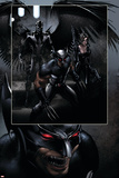 X-Force No.23 Group: Archangel, Domino and Wolverine Posters by Clayton Crain