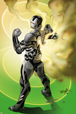 Iron Man 2.0 No.10 Cover: War Machine Standing Posters by Salvador Larroca