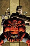 Hulk No.46 Cover: Red Hulk Yelling Prints by Patrick Zircher