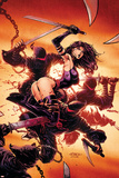 Psylocke No.2 Cover: Psylocke Prints by David Finch