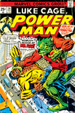 Marvel Comics Retro: Luke Cage, Power Man Comic Book Cover No.29, Fighting Mr. Fish Fotografía