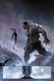 Ultimate Comics Ultimates No.8: Mr. Fantastic and Hulk Posters by Esad Ribic