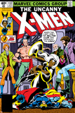 Uncanny X-Men No.132 Cover: Shaw, Sebastian, Wyngarde, Jason, Storm and Hellfire Club Prints by John Byrne