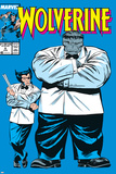 Wolverine No.8 Cover: Wolverine and Hulk Poster af Rob Liefeld