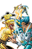 X-Force Volume 2 No.3 Cover: Shatterstar, Sunspot, Cable and X-Force Prints by Rob Liefeld